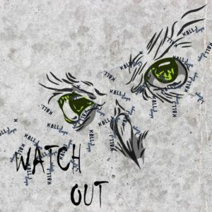 Eule -watch out!-
